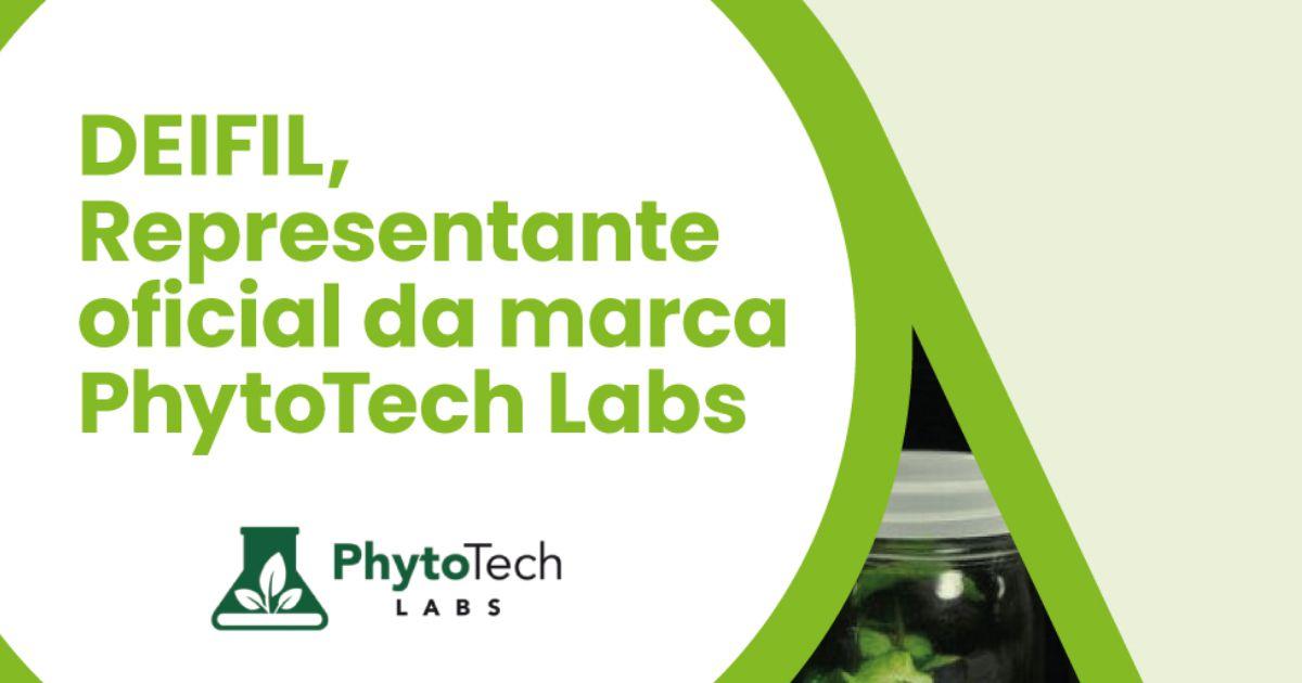 Deifil representa a PhytoTech Labs em Portugal